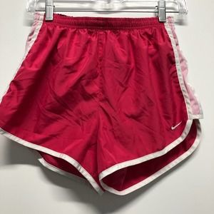 Nike athletic shorts running loose lined B2
